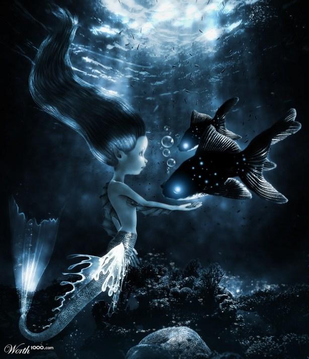 A Sereia e o Peixe